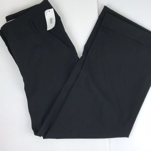 Studio M NWT black wide leg high waist trousers